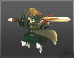 Epic Chibi Rhaziel by Reganov