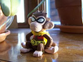 Monkey Robin by BrittyDee