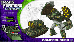 Transformers Legacy: Bonecrusher by CyRaptor