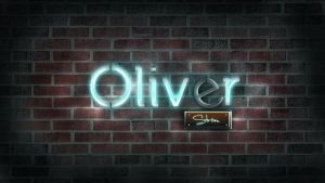 Neon Namesign Wallpaper by Oliver240693
