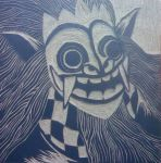 Woodcut Number 1: Barong by thejacobskid