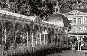 Karlsbad - White Colonnades by pingallery