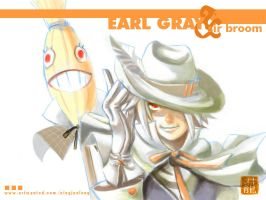 EARL GRAY n SIR BROOM by c0ffecat-jun