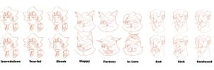 Expressions for Cheeks by CheungKinMen