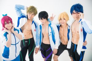Iwatobi Swim Club by Lilaeroplane