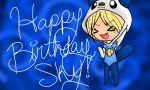 Happy Birthday, Sky! by Cheshire-Kitten-2012