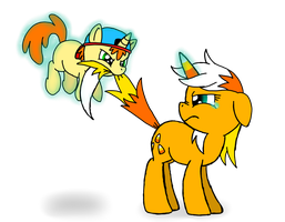 Sibling rivalry by Spice5400