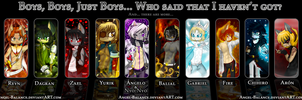 Boys Boys Boys  by Angel-Balance