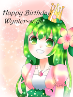 HBD Wynter!! by RoweniiChan