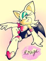 Sincerely, Rouge The Bat by Th3-C0unt3ss