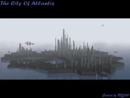 Atlantis in Mist by Ra100x