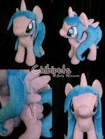 Princess Ally Oc custom plush by Chibi-pets