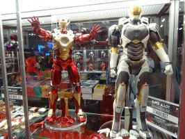 Iron Man's Hearkbreaker and Starboost Space Armor by nx20
