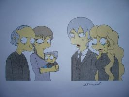 The funeral of Waylon Smithers Sr. by Alicetiger