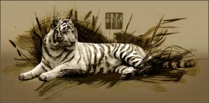 Chinese Tiger by near43