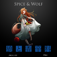 Spice and Wolf - Anime Icon by duckne55