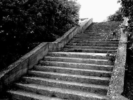 boring stairs by welder-stock