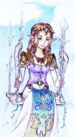 Princess Zelda In Paradise by Yui-san