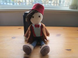 Doctor Who: 11th Doctor Crochet Doll (New version) by fourthimbles