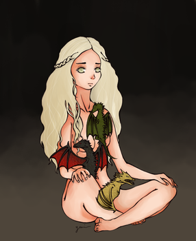Mother of Dragons by yunitea