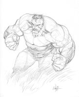 Hulk sketch by RyanOttley