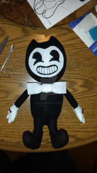 Bendy Plushie by squirrelismyfriend