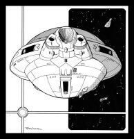 Imperial Battleship by RobCaswell