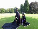 Alone Hades and Thanathos cosplay by TheBonnyBB