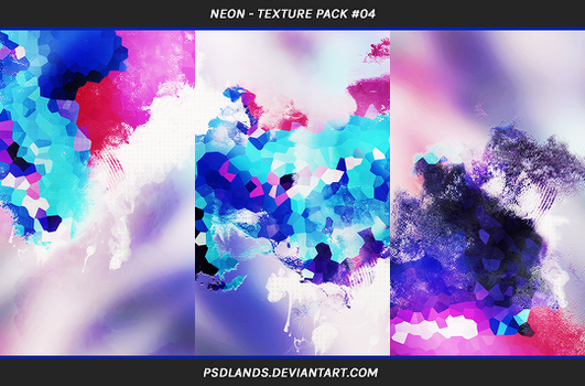 TEXTURE PACK #04 - neon by psdlands