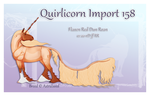 Quirlicorn Semi Custom Import158 by Astralseed