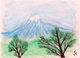 Mount Fuji by goggles8p