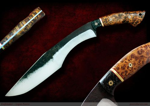 Kukri Knife by Logan-Pearce