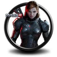 Mass Effect 3 Png icon 2 by SidySeven