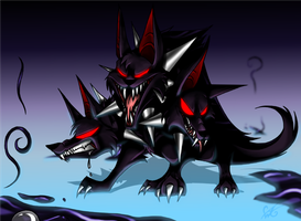 Cerberus - Guardian of the Underworld by Dragongirl269