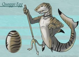 The Quagga Egg - Adoptable by Ulario