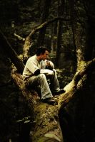 Adam in a tree 2 by edhall