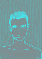 Rather Ghostly Shirtless Dude by slight-obstruction