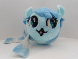 Needle Felted MLP OC Plush Chubby (Front) by MaijaFeja