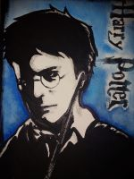 Harry Potter pop art by AlyssiaJayde