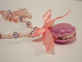 Macaroon Necklace by sweetmildred