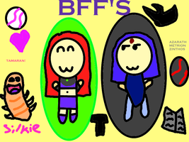 BFF's by COCOAJB