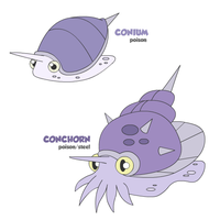 Conium and Conchorn by cobaltdragon
