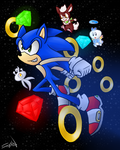 happy 22nd Sonic! by shadzter