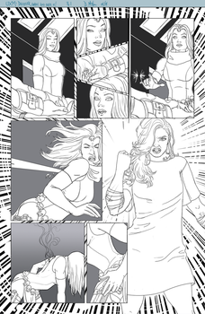 UXM: Dazzler Is Awake And She Is Over It. (pg 1) by Lightengale