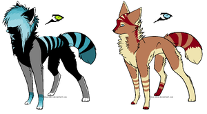 Canine Adopts Batch 2 *CLOSED* by Blinded-By-Stones