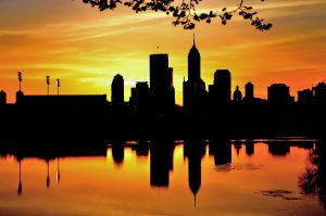 INDIANAPOLIS SILHOUETTE by rongiveans
