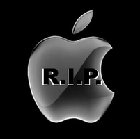 RIP Steve Jobs by dareKITTY