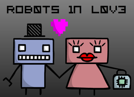 Robots in Love by AceDecade