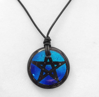 Custom Pentacle Necklace by poisons-sanity