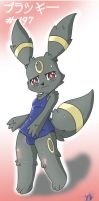 umbreon swimsuit by kgse